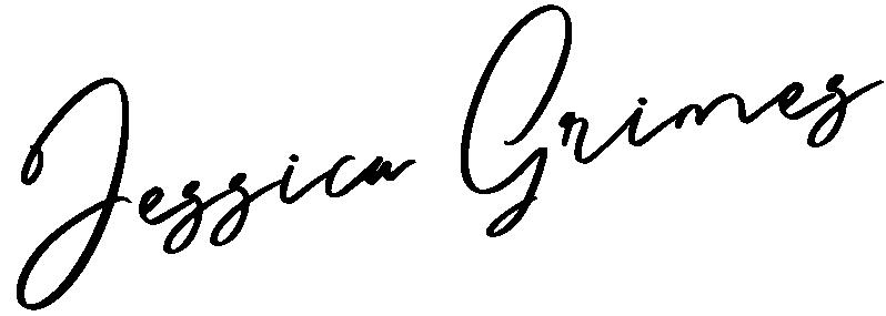 Jessica Grimes signature